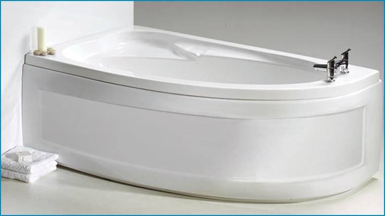 Offset Corner Baths for your bathroom at The Crowborough Bath Shop