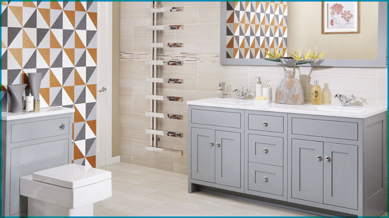 Wood Finish Vanity Unit & Fitted Bathroom Furniture and Free Standing Vanity Units.