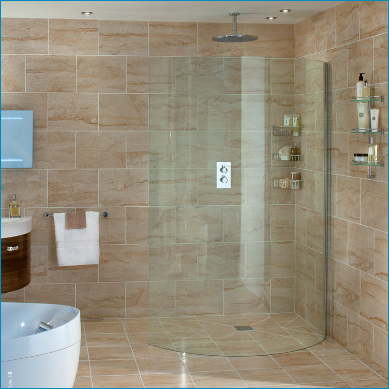 Shower enclosures shower systems shower trays - Bath shower room ...